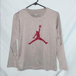 Boys Nike Jordan dry fit shirt